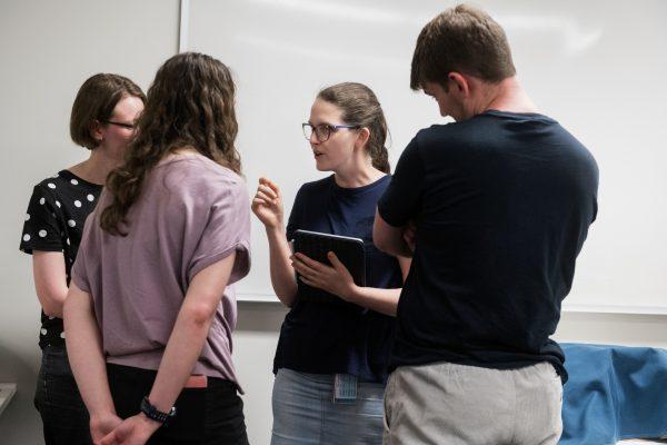 Student Conversing 3